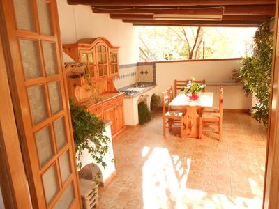 Photo for HOUSE WITH CONVENIENT VERANDA TO COOK AND EAT IN THE OPEN