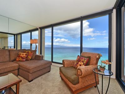 Photo for â›±Mahana 1217 OCEANFRONT DELUXE PENTHOUSE Condo  / 12th Floorâ›±