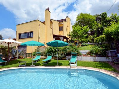 Photo for Vacation home Villetta nel Verde  in Montaione, Florence and surroundings - 8 persons, 3 bedrooms
