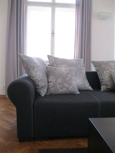 Photo for Something special: all-new designer flat in an historic villa, close to the shopping area