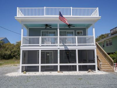 Photo for Beach access right across the street from this beautifully renovated duplex