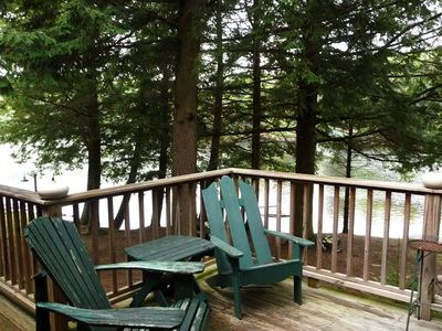 Photo for Waterfront Adirondack Cabin