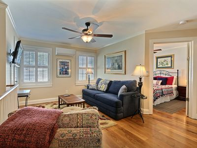 Photo for Cozy, family friendly hideaway is in walking distance of everything you need!