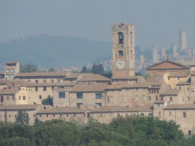 Overview Colle and San Gimignano