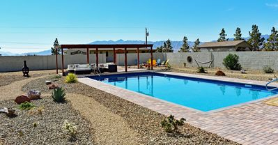 Photo for Spacious 1100 sqft Private Rural Guest House w/ Private Pool Access 45m to Vegas