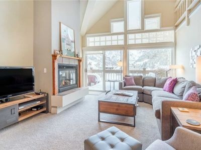 Flexible Summer Policies - Quiet Ski-In/Ski-Out Condo With Cathedral Windows & Amazing Deck