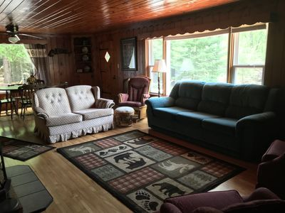 3  and 1 Bedroom Cottages (with pontoon Memorial-Labor Day) - sleeps 16 on Chain