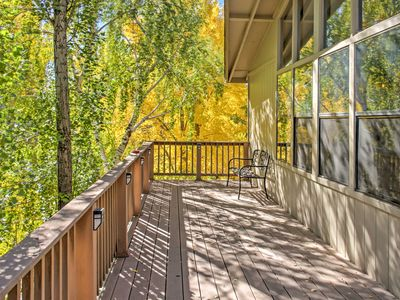 Photo for 2BR Flagstaff Townhome w/Deck - Walk to Golf Course