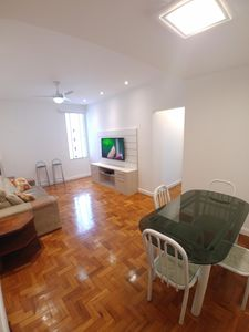 Photo for Comfortable furnished apartment in Copacabana, 2 bedrooms (1 en suite), with 89 m2