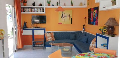 """Photo for Apartment """"ORANGE"""" in quiet beach-dunes location, and access to the sea"""