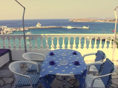 Photo for Aegean Sea-view house in Batsi, Andros!