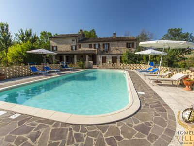 Photo for Villa del Bosco, into the very true nature of Marche, with private pool