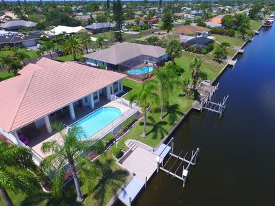 Photo for GREAT Location! STUNNING SE Cape Coral Gulf Access Vacation Home, Heated Pool, Garage, Free WiFi