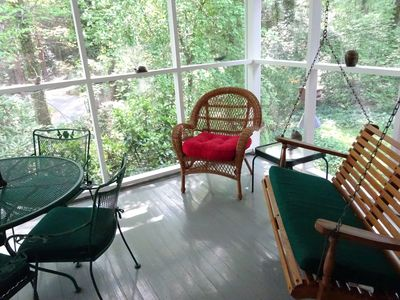 Photo for Cardinal Cottage-Woods, 10 acres, White Squirrels ,Quiet, Great Location, Roomy