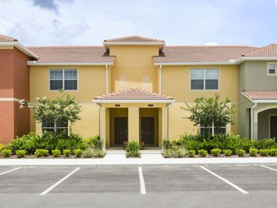 Photo for Stunning 4 bedroom townhome with Tvs in all rooms and a private pool