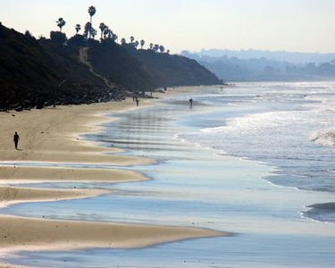 this is the beach right down the street from you!