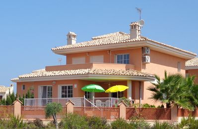 Photo for Spacious luxurious villa near to beaches with own pool and internet at La Manga