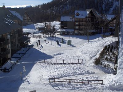 Photo for A Reallon. Nice 2 bedroom apartment in a chalet. Close to the slopes.
