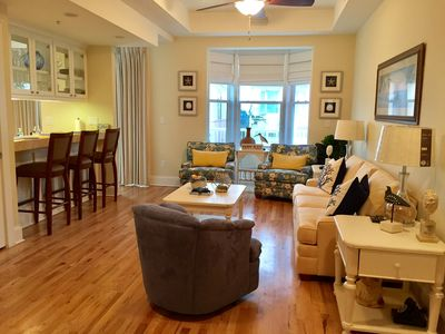 Photo for Newly remodeled in 2017, 2BR/2 1/2BA condo in exclusive Carillon Beach & Resort