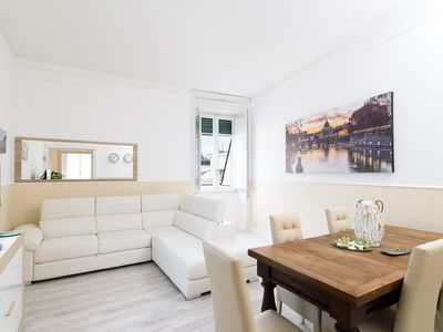 Photo for NEW CHARMING APT. OVERLOOKING S. PETER CHURCH, 4 bedrooms, 11 sl., 3 bathr