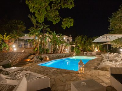 Photo for Villa 500 meters from the Blue Grotto with car access and private pool