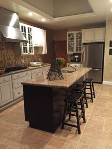 Make dinner for two or twenty in our spacious kitchen.