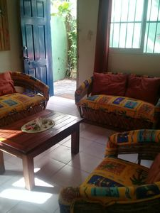 Photo for Central Playa with private patio. Close to everything.