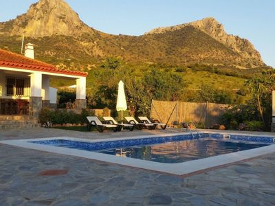 Photo for Stunning  villa for 4 people with A/C, WIFI, TV and pets allowed