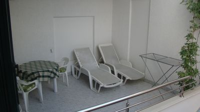 Photo for Studio with balcony and air conditioning
