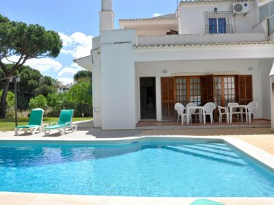 Photo for Comfortable Holiday Home in Vilamoura with Private Pool