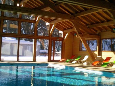 Photo for Duplex in familly resort  with heated swimming pool - Mont Saxonnex