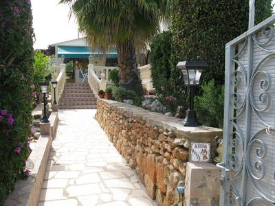 Photo for Calpe: (Text automatically translated) House with garden