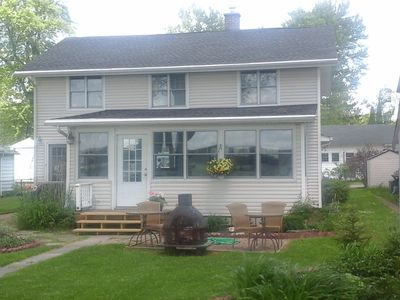 Photo for Chautauqua Lake Front Property - Walk to the Village of Bemus Point!