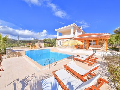 Photo for Villa Bulut with private pool 2 Bedrooms
