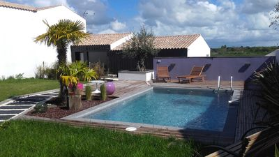 Photo for Independent studio with beautiful garden and SWIMMING POOL on the island of Oléron