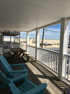 Photo for Immaculate, Comfortable And 3 Houses To The Beach On A Dead End Street