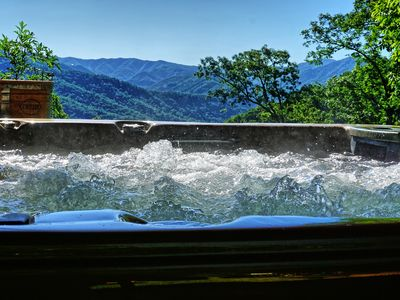 Photo for Who wants a long-range mountain view with a hot tub?