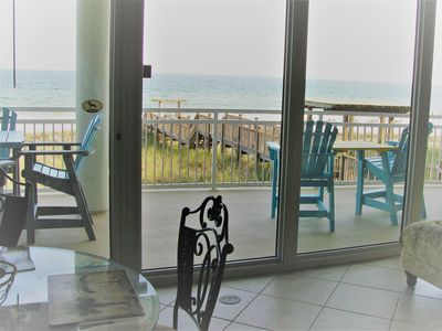 Photo for LaPlaya 102 Low Floor Gated Gulf Front Large Balcony Private Beach Only 36 units