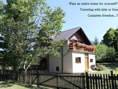 Photo for HolidayHome Iris near Plitvice Lakes, perfect for families & nature-lovers!