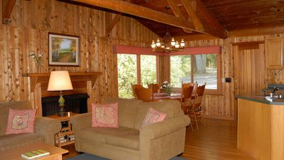 Open Beam Cedar Cabin; Perfectly Natural