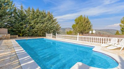 Photo for Beautiful country villa with nice swimming pool and fantastic views