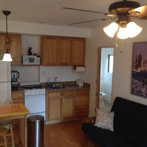 Newly remodeled 2 story sleeps 2 with 1.5 bath!