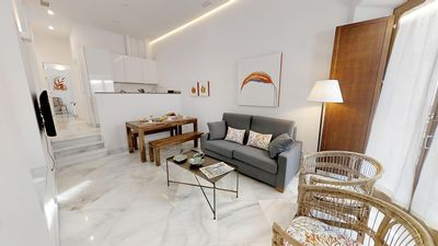 Photo for Catedral Cool VI apartment in Santa Cruz – Catedral with WiFi, integrated air conditioning, shared …
