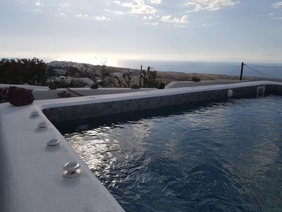 Photo for ALONISTRA OIA HOUSES - TRADITIONAL HOUSE WITH PRIVATE SPLASH POOL