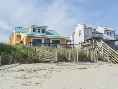 Photo for Oh My Stars! - 6 Bed/2.5 Bath Colorful, Oceanfront Beach Cottage