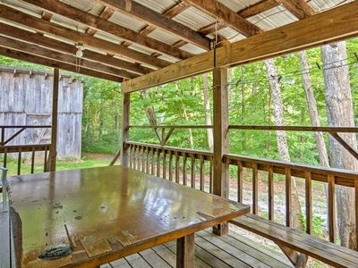Photo for Rustic Taswell Cabin w/Wooded Views -Walk to Lake!