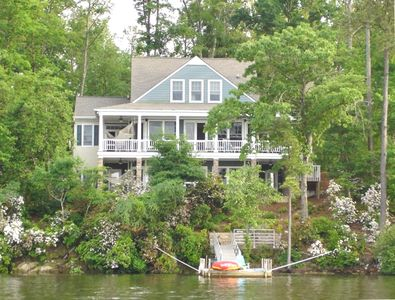 View of House and Dock from Lake
