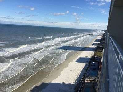 Photo for Oceanfront-Wonderful Location-Grand Coquina
