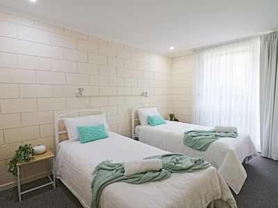 Photo for All decked out at Penguin Mews Unit 9 - 5+ nights
