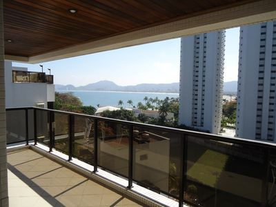 Photo for Apt on the beach, with 3 Bedrooms, overlooking the entire edge of the Cove